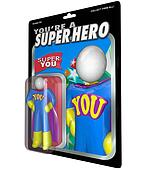 You Are a Super Hero Action Figure Praise Recognition
