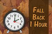 It is time to fall back message