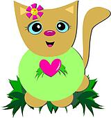 Sweet Cat with a Big Heart