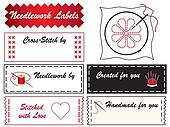 Needlework Labels