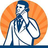 Scientist Researcher Lab Technician Telephone