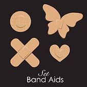 Band aids collection