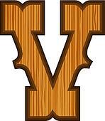 Western V letter