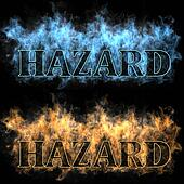 hazard in a fire