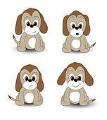 Cartoon pups