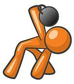 Orange Man Russian Kettlebelll Workout