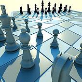 Three-handed chess