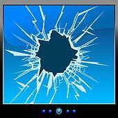 monitor crack