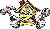 Happy House Holding Repair Tools