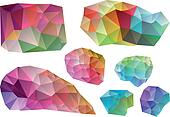 colorful vector design elements