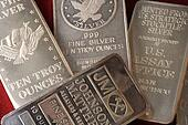 Silver Bullion Bars Assortment