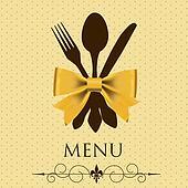 The concept of Restaurant menu. vector illustration