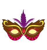 Mardi Gras Mask 1