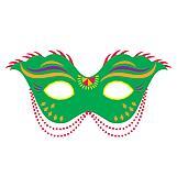 Mardi Gras Mask 4