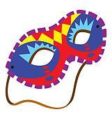 Mardi Gras Mask 6
