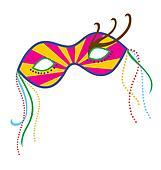 Mardi Gras Mask 7