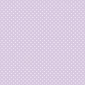 Seamless Polka Dots Pastel Lavender