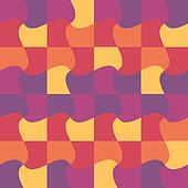 vector puzzle pattern, print, background, wallpaper, swatch