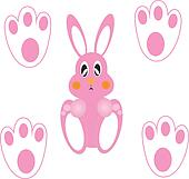 baby rabbit pattern