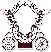 Royal Carriage Clip Art - Royalty Free - GoGraph