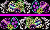 Easter egg border 2