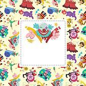 circus card
