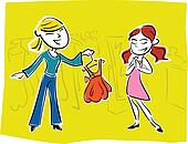 prom dress picking