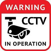 CCTV warning symbol