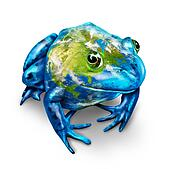 Global Earth Frog