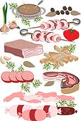 Meat delicatessen