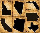 States of the USA
