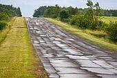 Broken up Highway