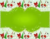 Christmas Badge or Banner