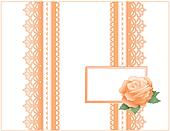 Antique Lace, Heritage Rose, Card