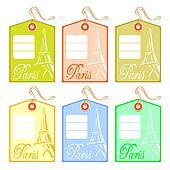 String tag for Paris