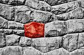 Odd red stone