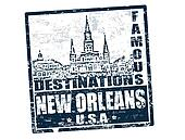 New Orleans stamp