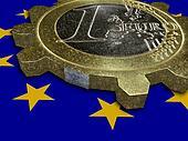 EURO coin as gear