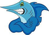funny marlin fish