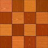 seamless oak square chess like parquet texture