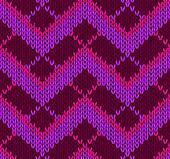 Style Seamless Pin Knitwear Pattern