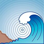 Giant Tsunami Wave