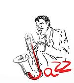 the saxophone player. eps8