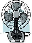 table fan ventilator