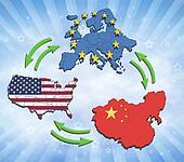 USA, Europe and China Interatction.