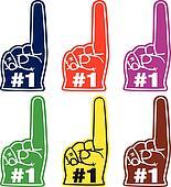 Number One Foam Finger