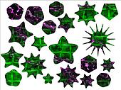 Green and Purple Special Offer Sale Stickers