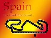 Spain Catalunya F1 Formula 1 Racing Circuit