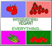 being a vegan