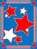 Patriotic Star Backgrou